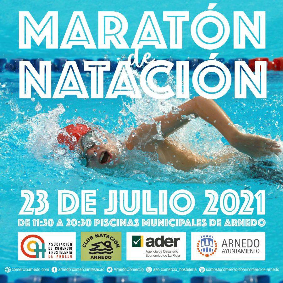 Maratón de natación